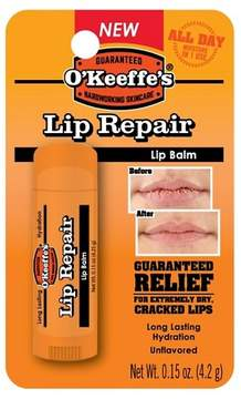 O'Keeffes® Unflavored Lip Repair Balm - 0.15 oz