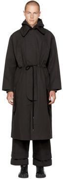 Craig Green Black Workwear Handle Coat