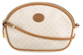 Gucci Vintage Round Crossbody Bag - BROWN - STYLE