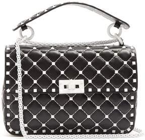 Valentino Rockstud Spike quilted-leather shoulder bag