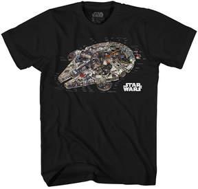Star Wars Novelty T-Shirts Millennium Reveal Graphic Tee