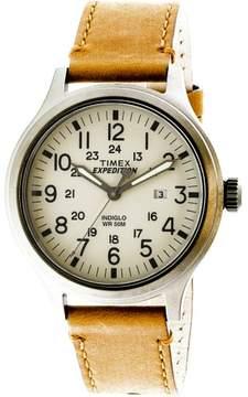 Timex TW4B06500 Silver Leather Quartz Fashion Watch