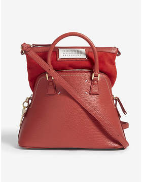Maison Margiela Classic expandable small leather tote