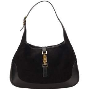 Gucci Jackie cloth handbag - BLACK - STYLE