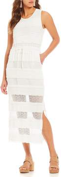 Chelsea & Violet Stretch Lace Midi Dress