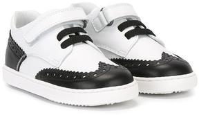Dolce & Gabbana Kids brogue detailed sneakers