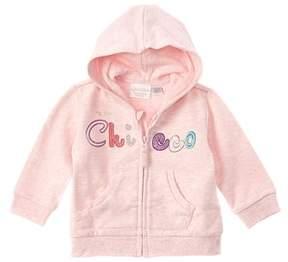 Chicco Girls' Pink Zip Up Jacket.