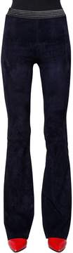 Drome Stretch Nappa Suede Flared Pants