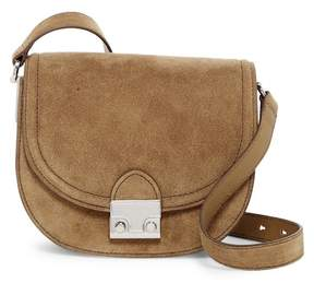 Loeffler Randall Charming Suede Saddle Bag