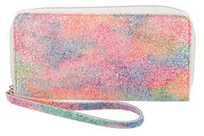 MM6 by Maison Martin Margiela Multicolor Glitter Wallet