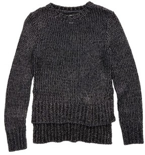 Treasure & Bond Girl's Metallic Sweater