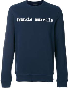 Frankie Morello logo print sweatshirt