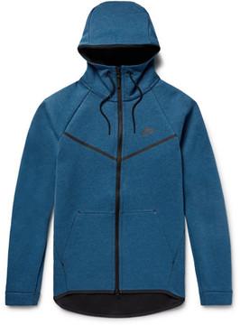 Nike Sportswear Slim-Fit Cotton-Blend Tech Fleece Zip-Up Hoodie