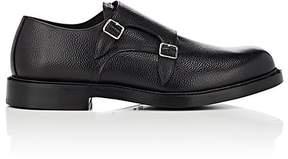 Calvin Klein Men's Grained Leather Double-Monk-Strap Shoes