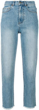 A.P.C. standard fringed jeans