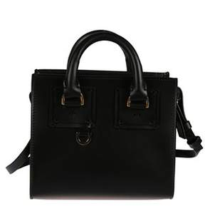 Sophie Hulme Women's Bg070lpblack Black Leather Handbag.