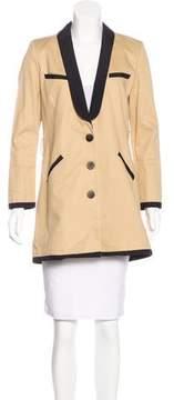 Timo Weiland Twill Shawl-Collar Coat