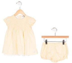 Armani Junior Girls' Printed Dress Set