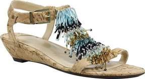 J. Renee Aleesa T-Strap Wedge Sandal (Women's)