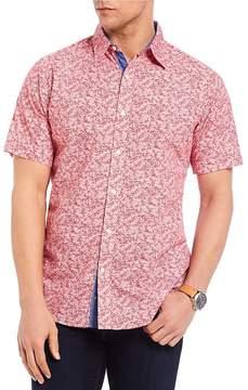 Daniel Cremieux Jeans Printed Short-Sleeve Woven Shirt