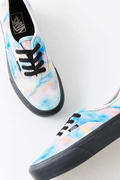 Vans Authentic Platform Velvet Tie-Dye Sneaker