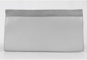 Everlane Grey Petra Clutch