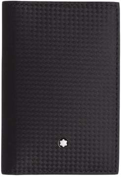 Montblanc Mont Blanc Document Holder In Black Leather