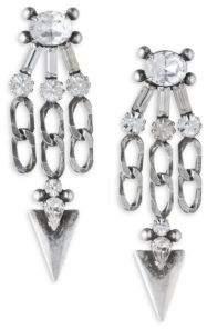 Dannijo Sofi Crystal Chandelier Earrings