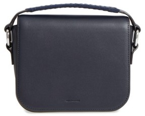 AllSaints Ray Leather Clutch - Blue