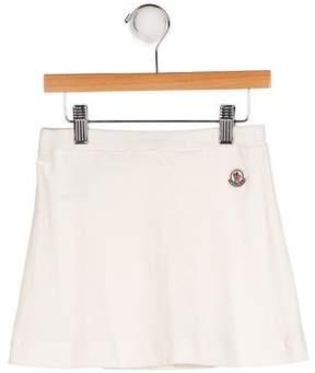 Moncler Girls' Pleated Mini Skirt
