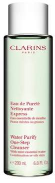 Clarins Water Purify One-Step Cleanser with Mint Essential Water - 6.8 fl. oz.