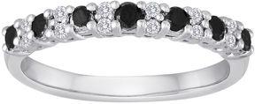 Black Diamond MODERN BRIDE 1/2 CT. T.W. White and Color-Enhanced Wedding Band
