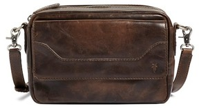 Frye Melissa Leather Camera Crossbody Bag
