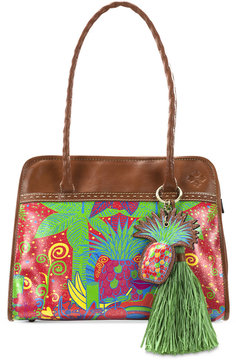 Patricia Nash Tropicana Summer Paris Medium Satchel
