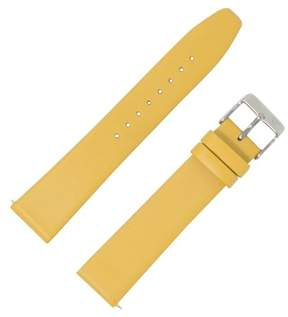 Dakota 18mm Smooth Calf with QR Springbar Yellow