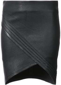 RtA mini wrap skirt