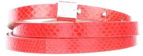 Diane von Furstenberg Wrap Around Leather Belt
