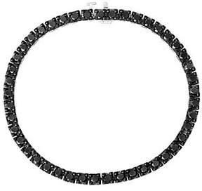 Black Diamond QVC Tennis Bracelet, Sterling, 4.50ctby Affinity