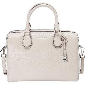 Michael Kors Mercer Pebbled Leather Duffle Bag - Cement - MULTICOLOR - STYLE