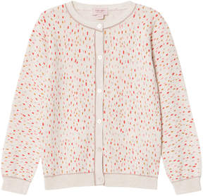 Mini A Ture Noa Noa Miniature Spotted Long Sleeve Cardigan