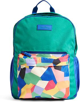 Vera Bradley Pop Art Large Color Block Backpack - POP - STYLE