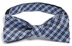 1901 Men's 'Choi' Check Silk Bow Tie