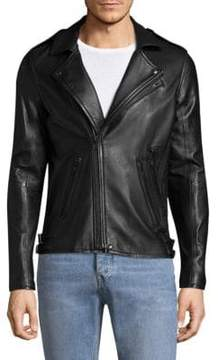IRO Glossy Leather Motor Jacket