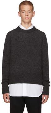 Acne Studios Grey Wool Kai Sweater