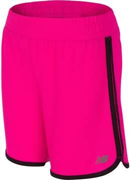 New Balance Girls 7-16 Long Shorts