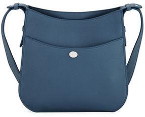Loro Piana Fleur Medium Leather Crossbody Bag