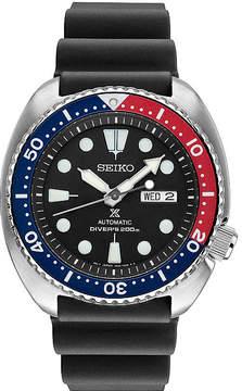 Seiko Dive Mens Black Strap Watch-Srp779