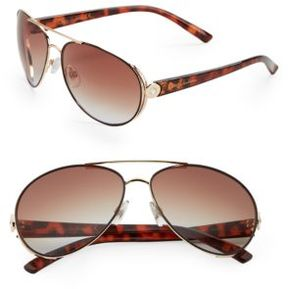Sam Edelman 64MM Round Sunglasses
