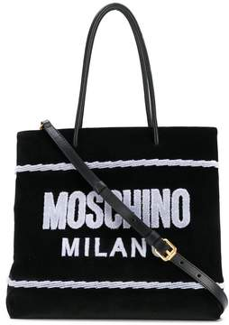 Moschino logo shopper bag