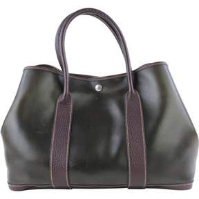 Hermes Garden Party leather satchel - BROWN - STYLE
